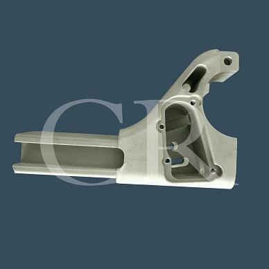 Aluminum alloy silica sol casting, Motorcycle support part