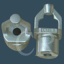 Spinning machine fittings investment casting process