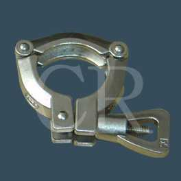 Pipe clamps- Stainless steel precision casting process, investment casting,  lost wax casting