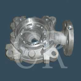 pump body parts investment casting, precision casting process, lost wax casting