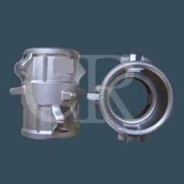 Ground joint fittings, lost wax casting, precision casting process, investment casting
