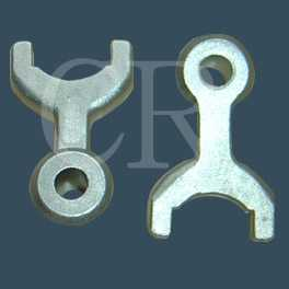Shift fork investment casting, precision casting process, lost wax casting