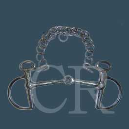 Gag bit - Stainless steel investment casting