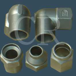Stainless steel couplings investment casting, precision casting process, lost wax casting