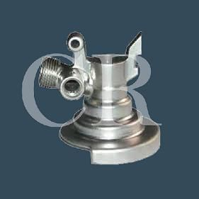 valve body silicasol lost wax investment casting and machining