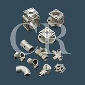 stainless steel valve precision casting, lost wax casting process and machining